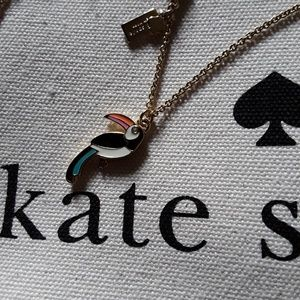 New♠️kate spade For the Birds Toucan Necklace!🌴